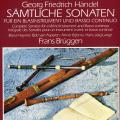 Complete sonatas for  a wind instrument