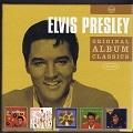 Elvis Presley 5 Elvi's golden records